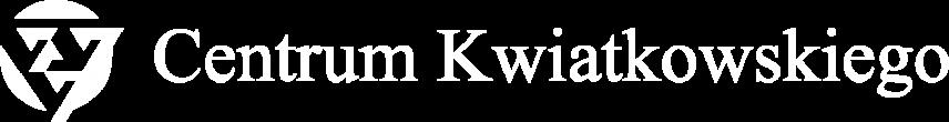 Centrum Kwiatkowskiego Logo White